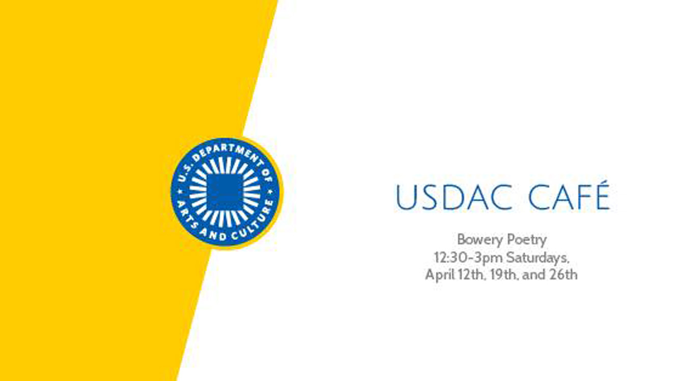 Coming in April: USDAC Cafe