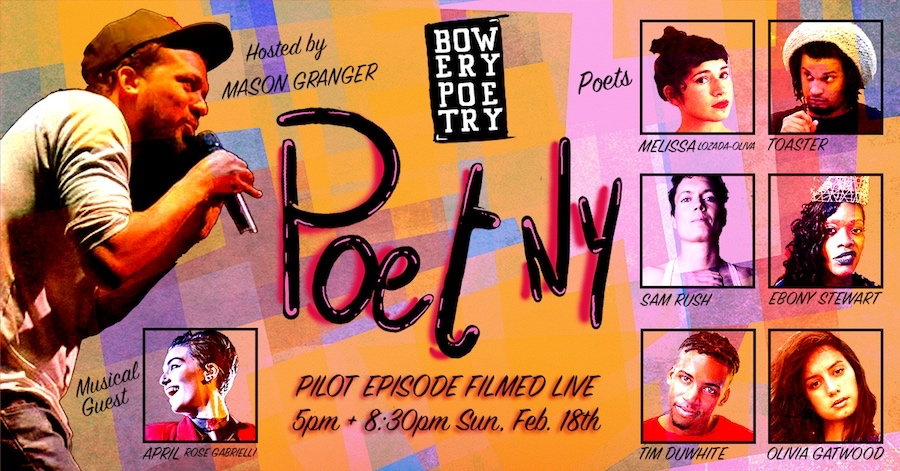 Be Part of PoetNY TV Pilot's Live Audience